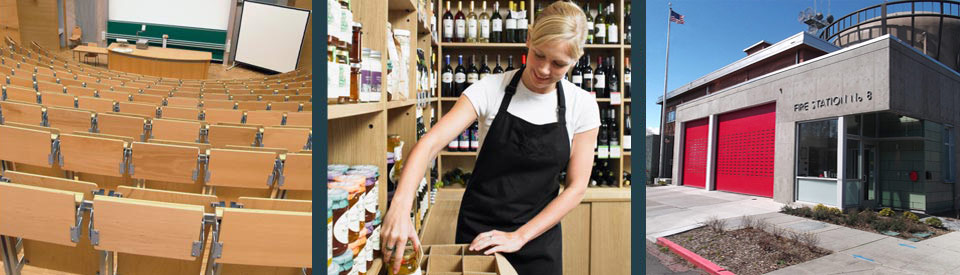 Store Services. Quality Work: On Time and On Budget